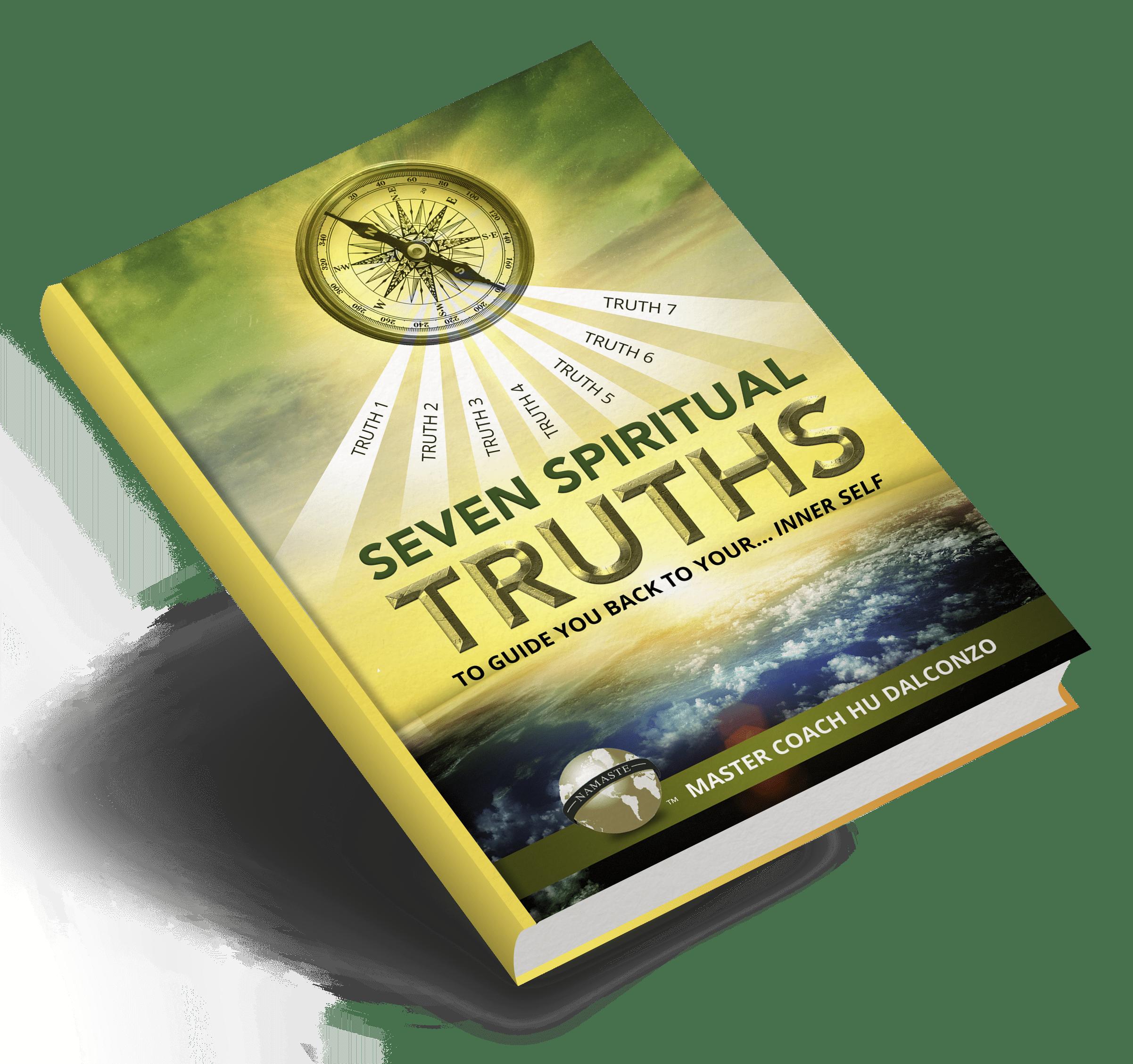 Seven Spiritual Truths- Book on Angle Mockup