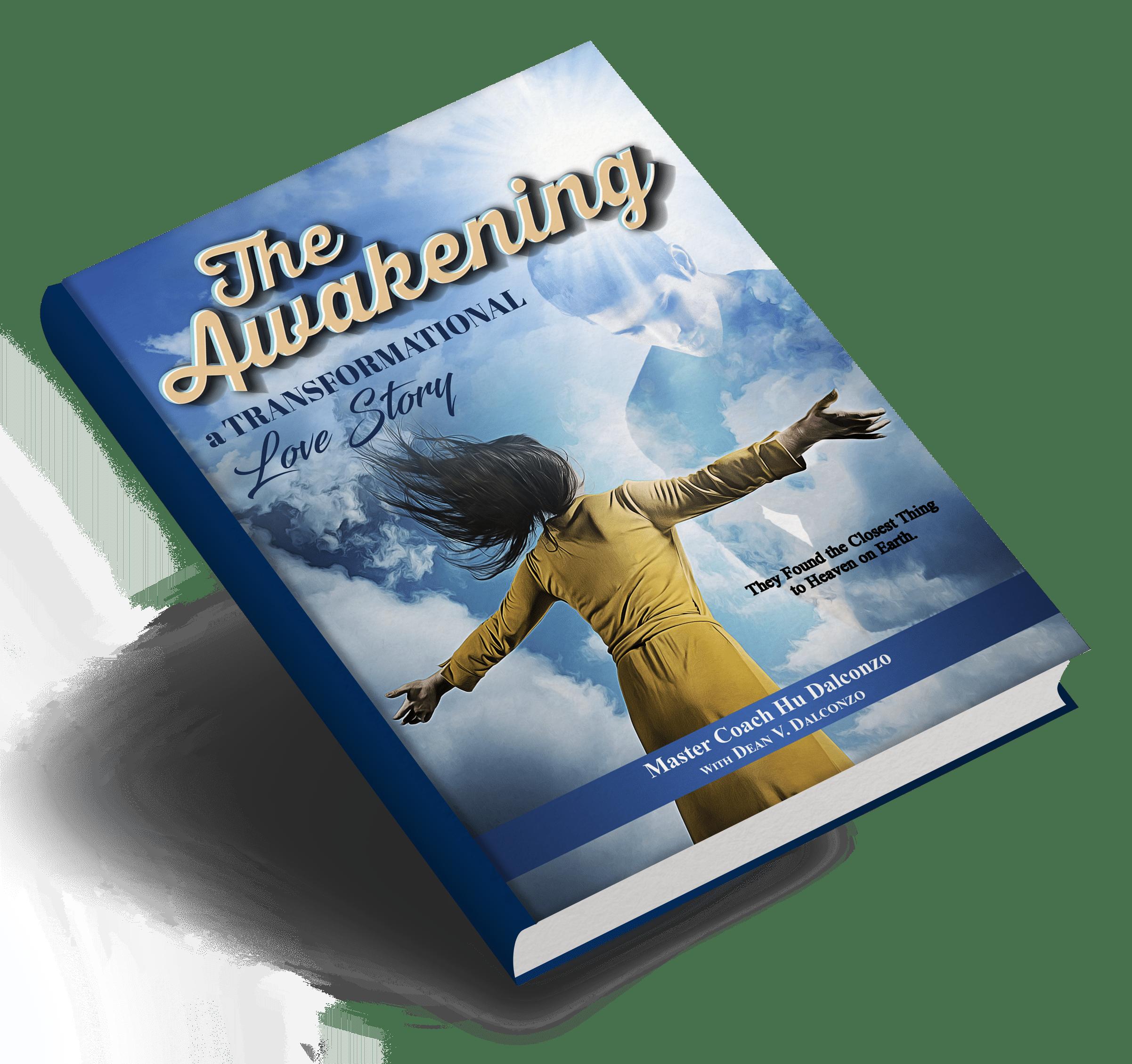 The Awakening- Book on Angle Mockup