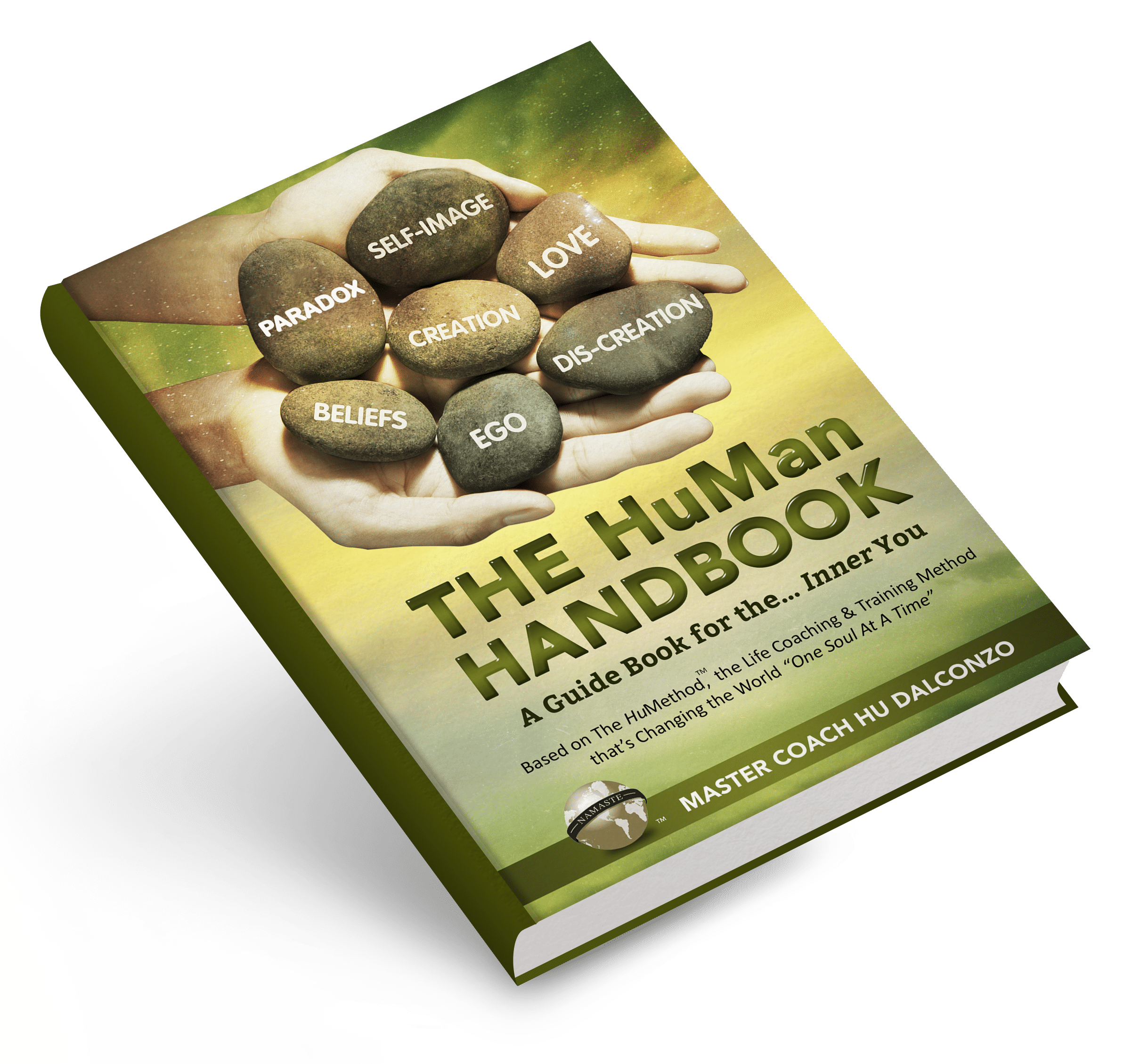 The HuMan Handbook- Book on Angle Mockup